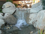 Water feature built for sight and sound