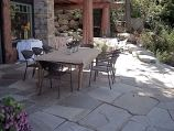 'Idaho Diamond' flagstone mixed with 'Gold Rush' flagstone
